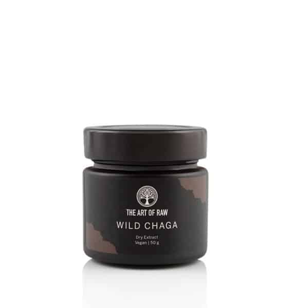 Chaga Trocken Extrakt 50g | The Art of Raw